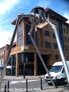 Photo of the Woking Martian